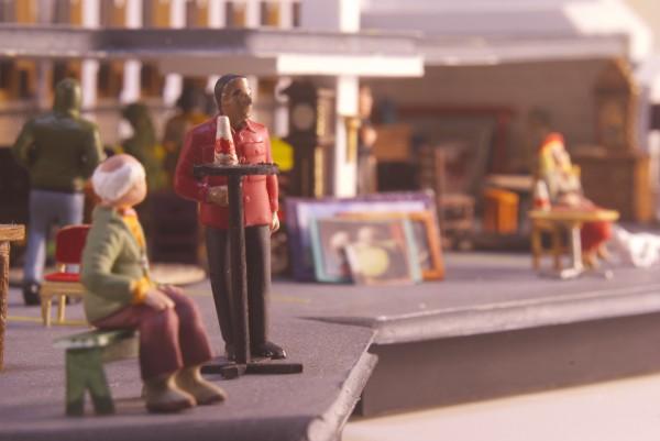 Chen Gaidica Garage Sale model detail shot